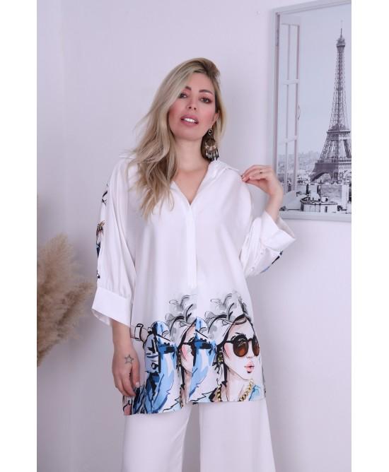 Maxi Camisa Ingrid
